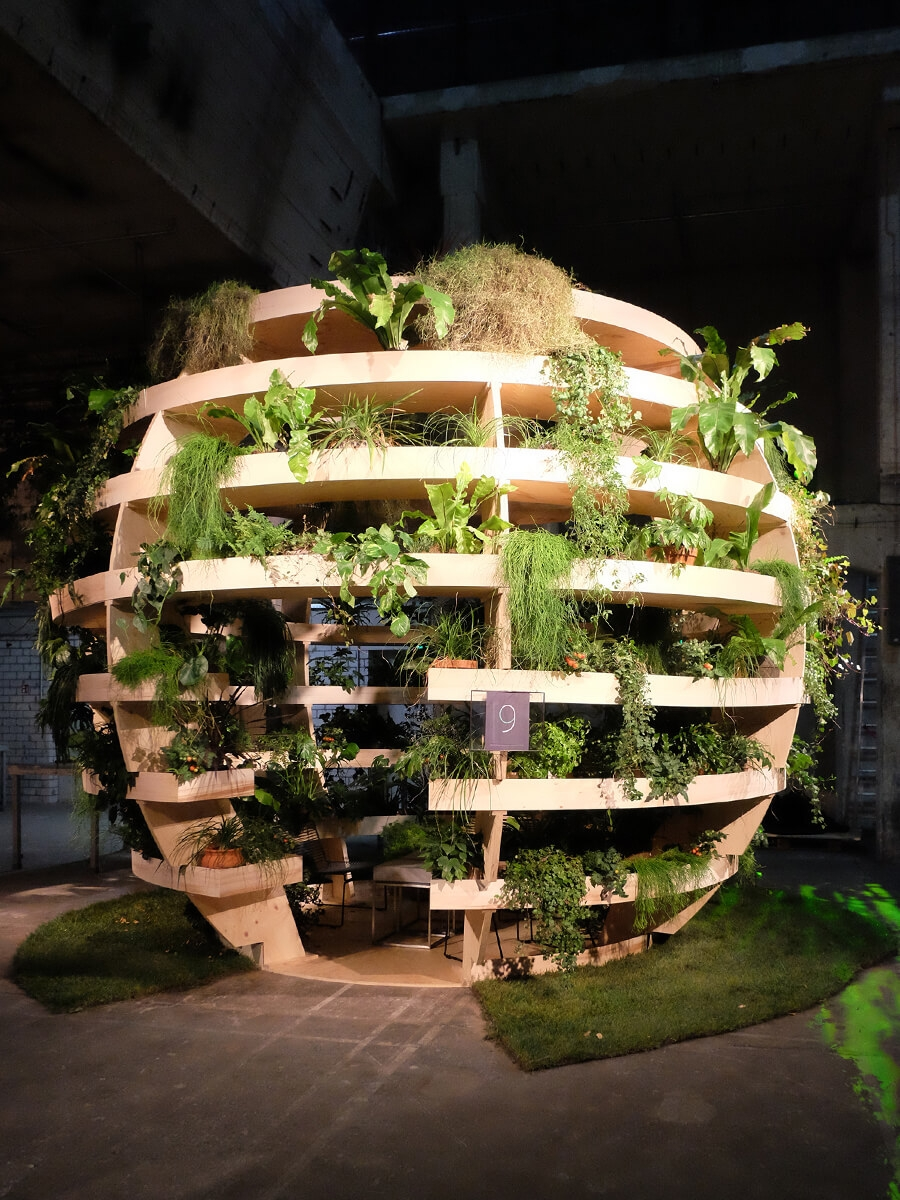 Google, Playtime, Kraftwerk, Berlin, Set Design Berlin, Urban Garden, Industrial Nature