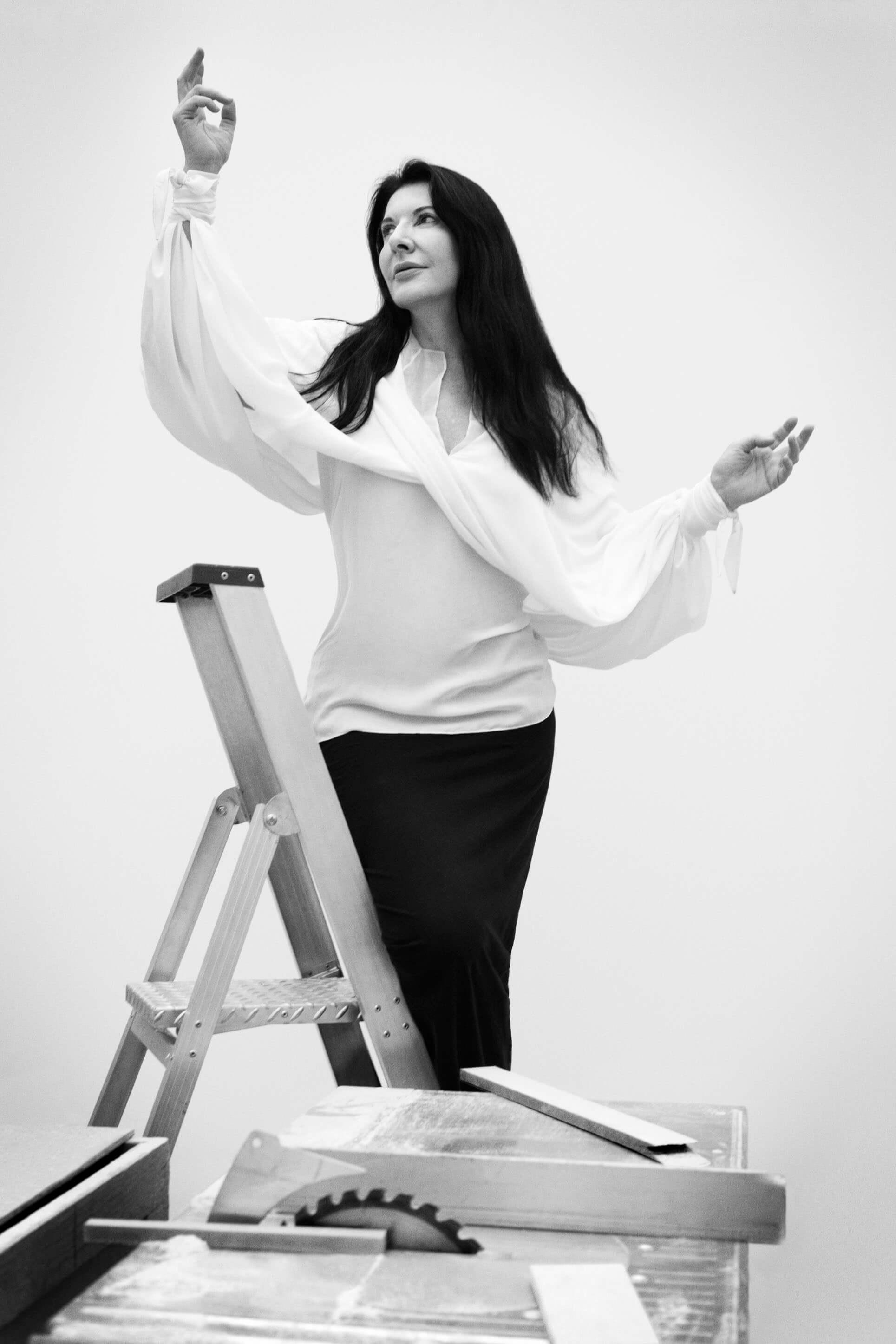Marina Abramovic Numéro Magazine Editorial Ruth Bartlett Our Bartlett Styling