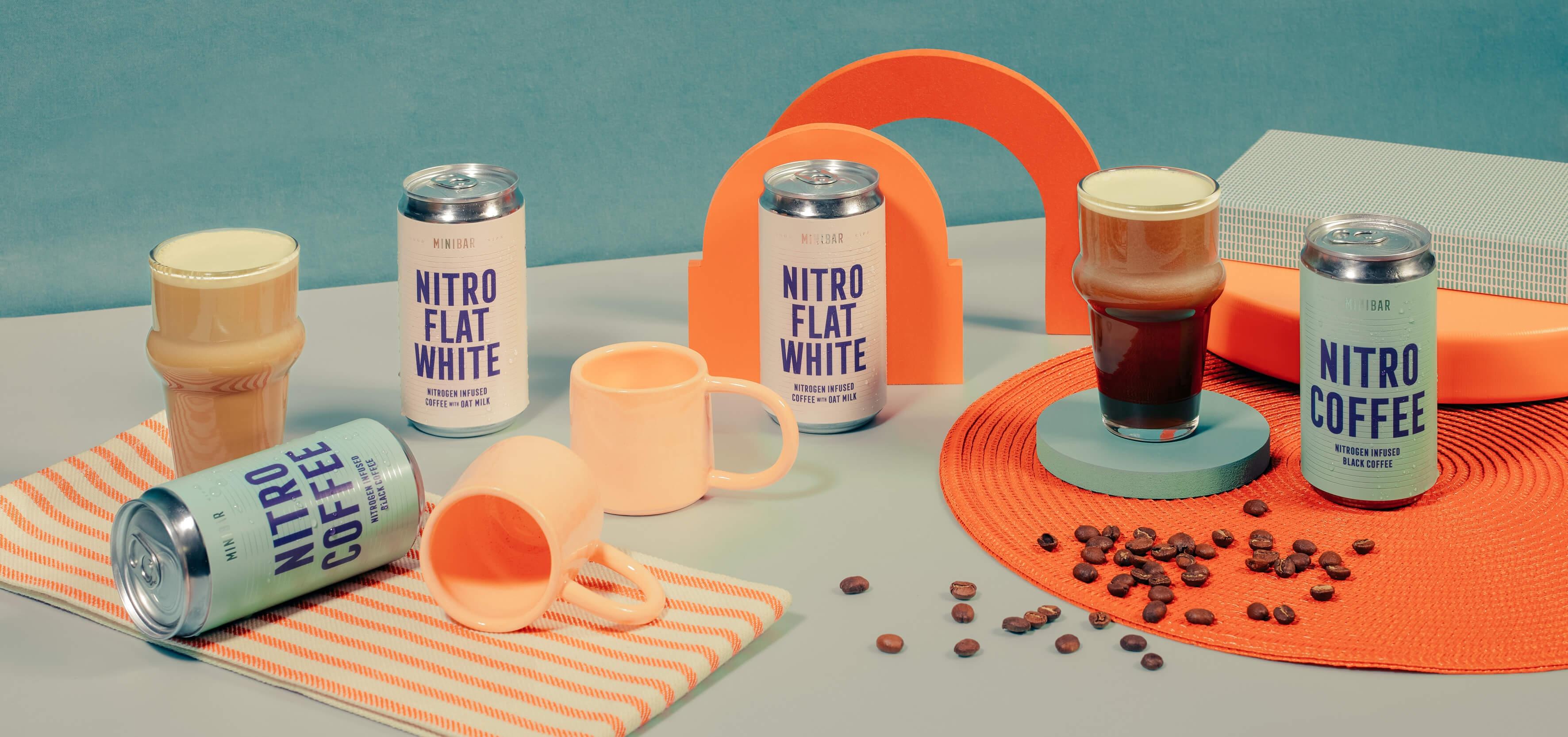Minibar Nitro Coffee, Ruth Bartlett, Our Bartlett, Set Design, Prop Styling, Art Direction