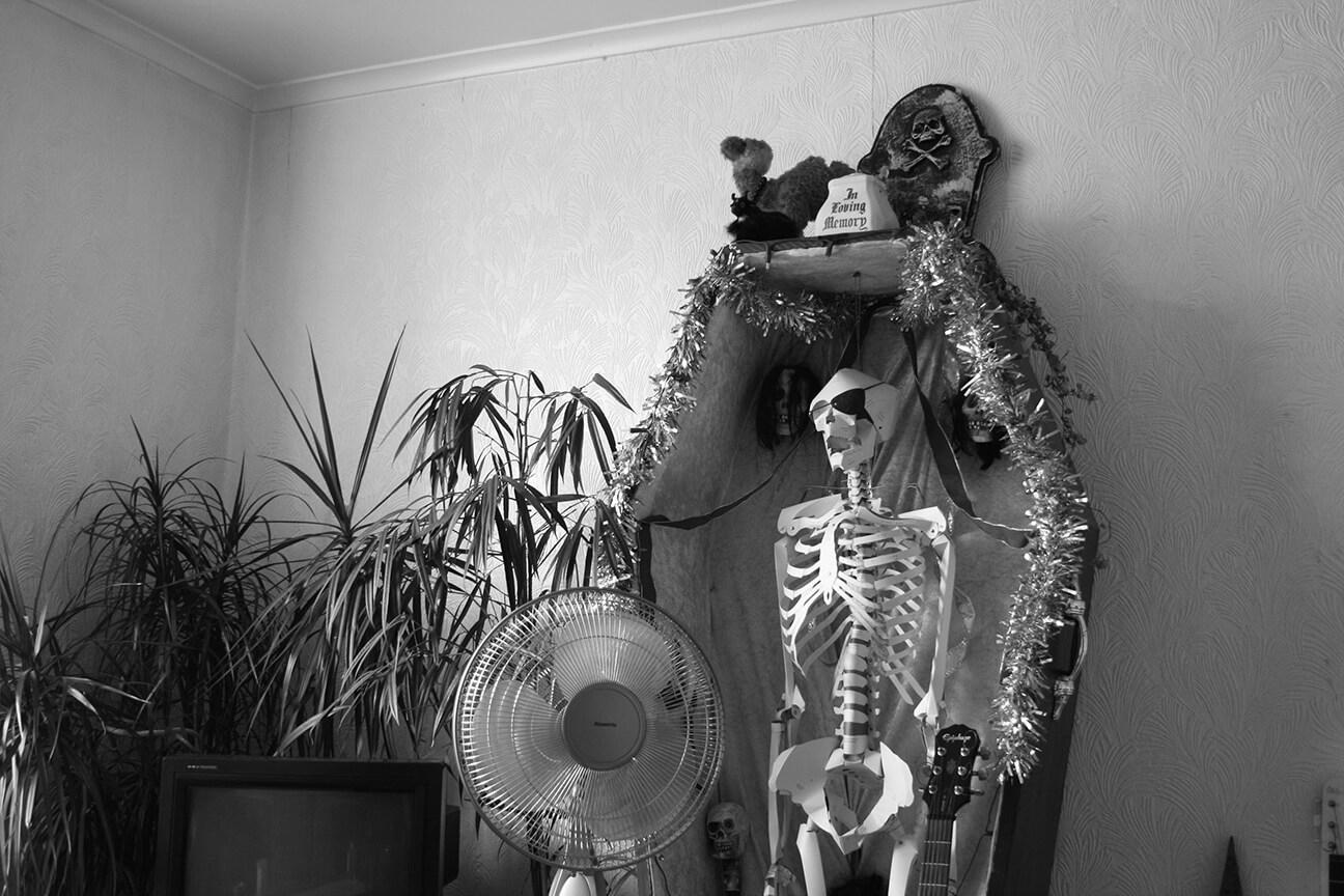 Ruth Bartlett Our Bartlett Photography Brighton Skeleton Coffin
