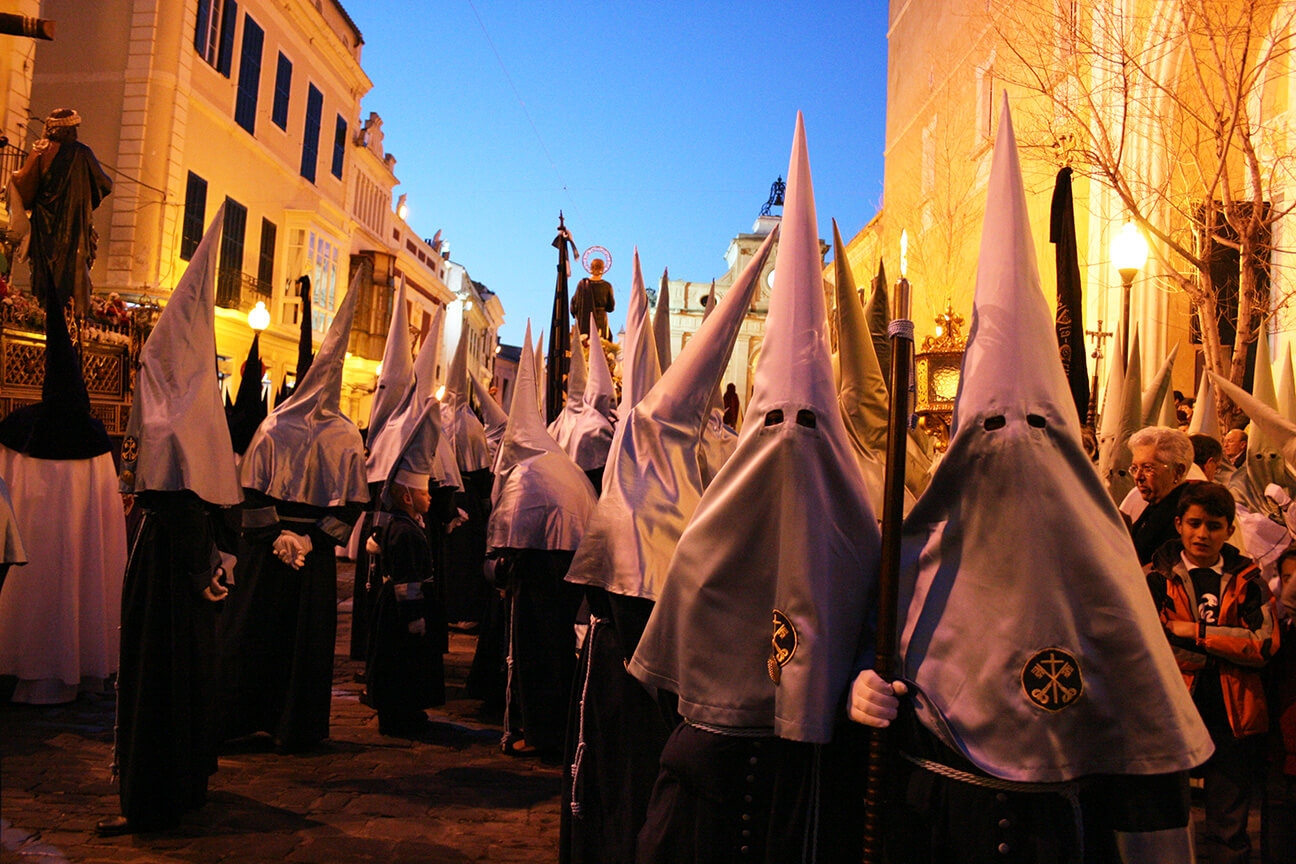 Ruth Bartlett Our Bartlett Photography Menorca Easter Catholic Hoods