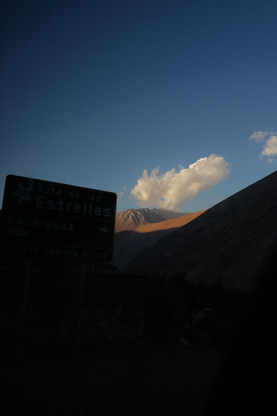 Ruth Bartlett Our Bartlett Photography Valle Del Elqui Chile Mountain Blue Sky
